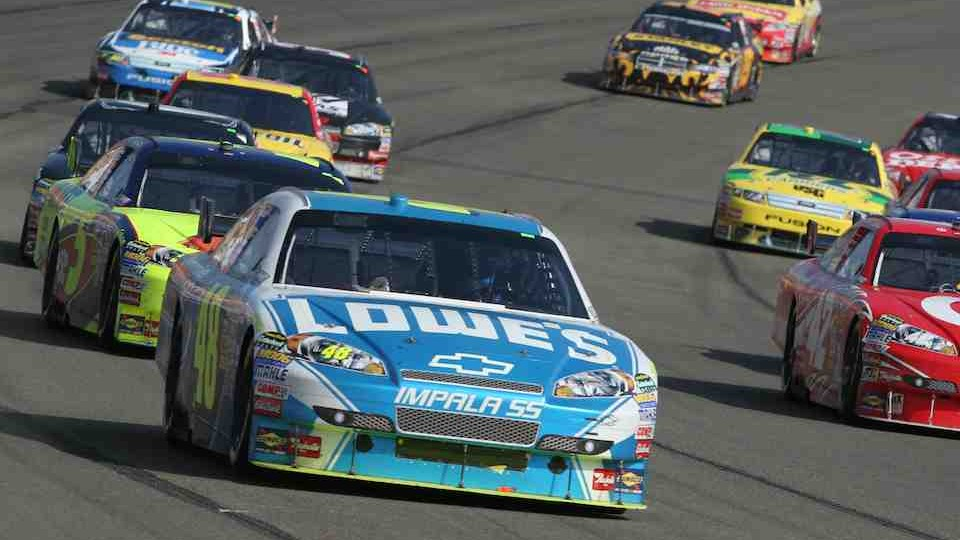 NASCAR PEPSI 500 RACE IN CALIFORNIA