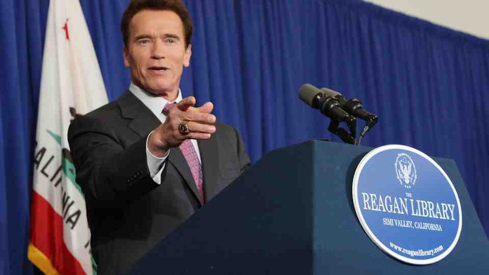 GOVERNOR SCHWARZENEGGER ANSWERS QUESTIONS PRIOR TO THE REPUBLICAN DEBATE